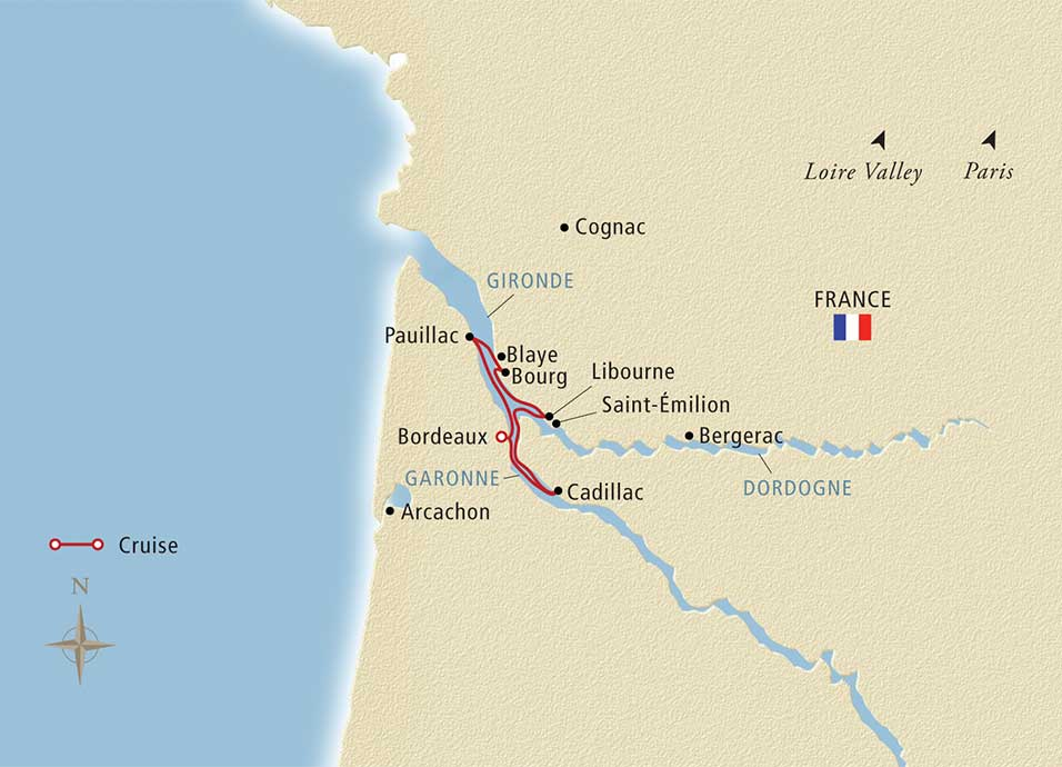 8 Day Viking River Cruise From Bordeaux To Saint Emilion