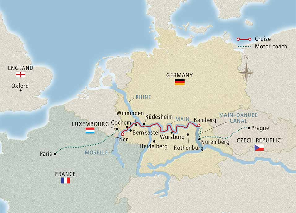 12 Day Viking River Cruise From Paris To Prague 2018 Cruiseexperts Com