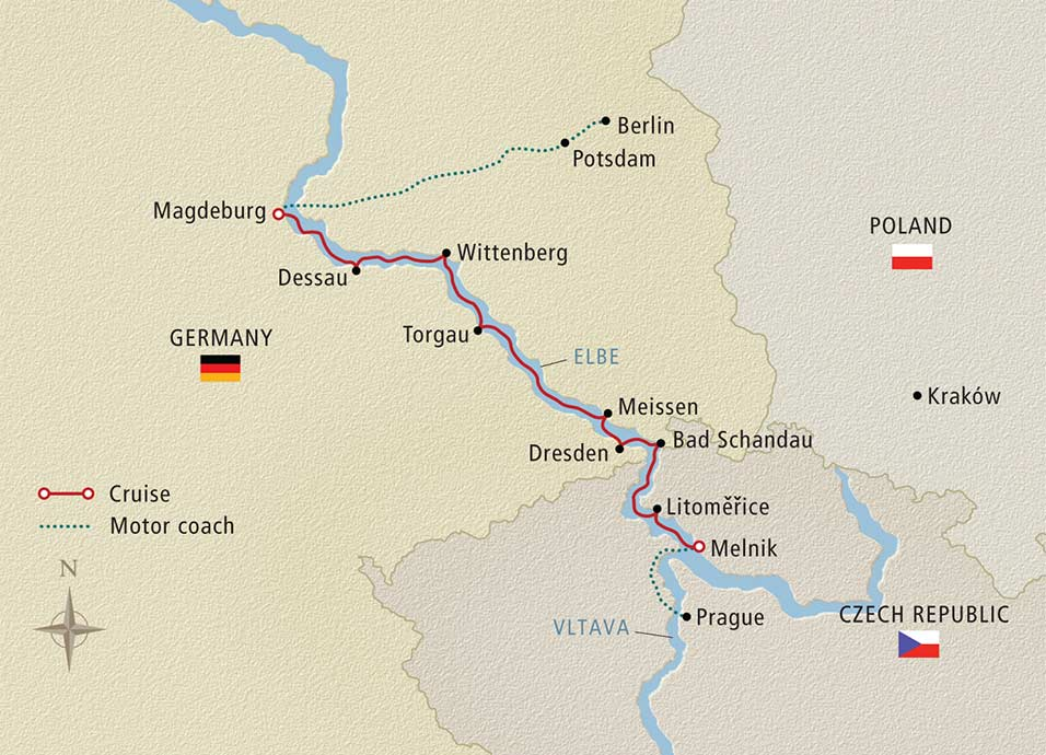 10 Day Viking River Cruise From Prague To Berlin 2018