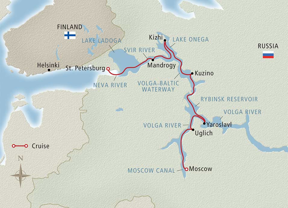 13 Day Viking River Cruise From St Petersburg To Moscow