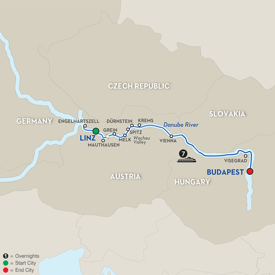 8 Day River Cruise Linz to Budapest Avalon Waterways River Cruises