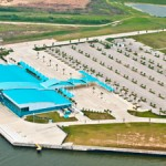The New cruise passenger terminal in Port of Houston opens in November 2013.