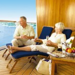 Couples who want great views of the ocean or port of call may want to consider booking a balcony or suite. Enjoy this balcony on the Princess Sapphire.
