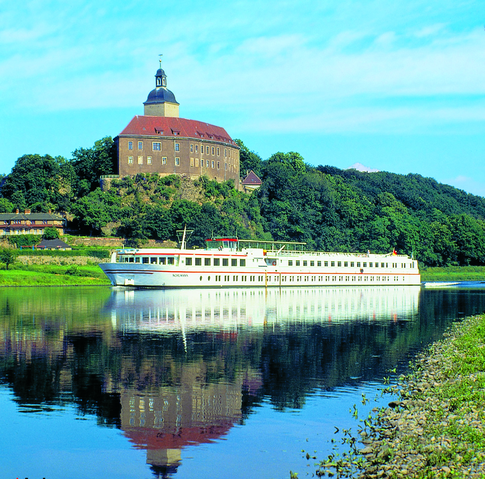 European River Cruise On The Elbe River