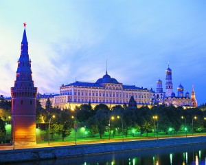 The Kremlin at Twilight