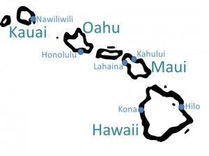 Hawaii graphics