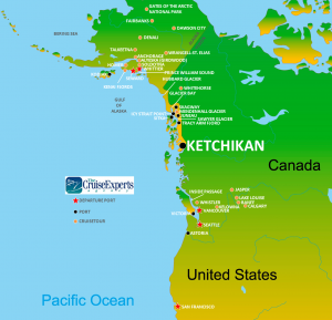 Ketchikan map