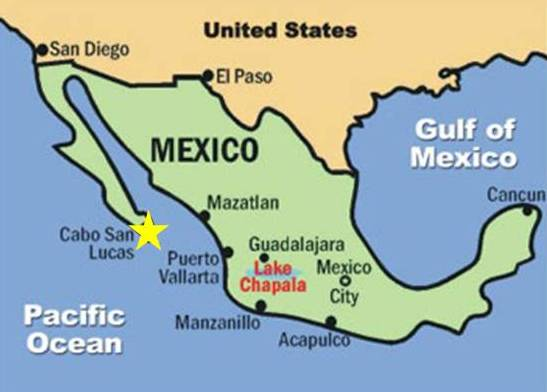 Mexico map cabo   CruiseExperts.Blog
