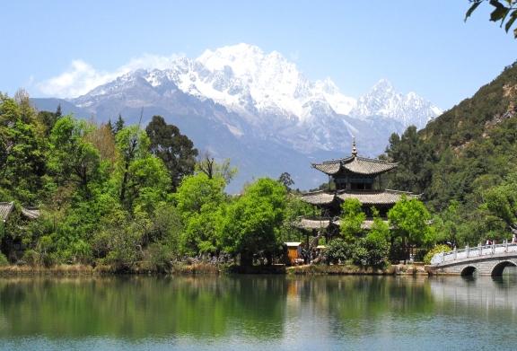 Black Dragon Pool at Lijiang, China