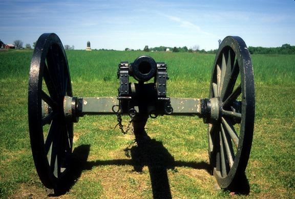 Three inch rifled cannon