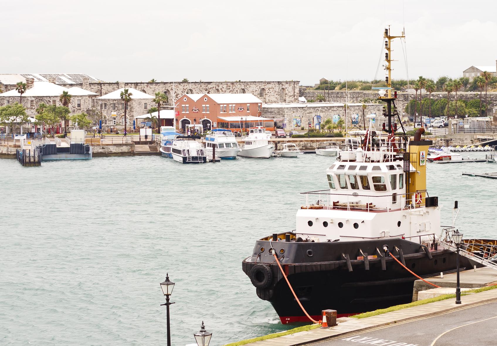 Bermuda cruise deals best cruises to bermuda - Tugboat At Harbor On Bermuda