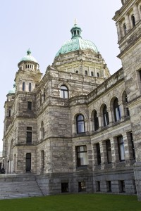 Best things to do in Victoria, BC, During Your Alaska Cruise. Side view of capital building of Victoria Canada