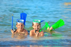 Top Activities for the Adventurer in Cabo. snorkling-kids