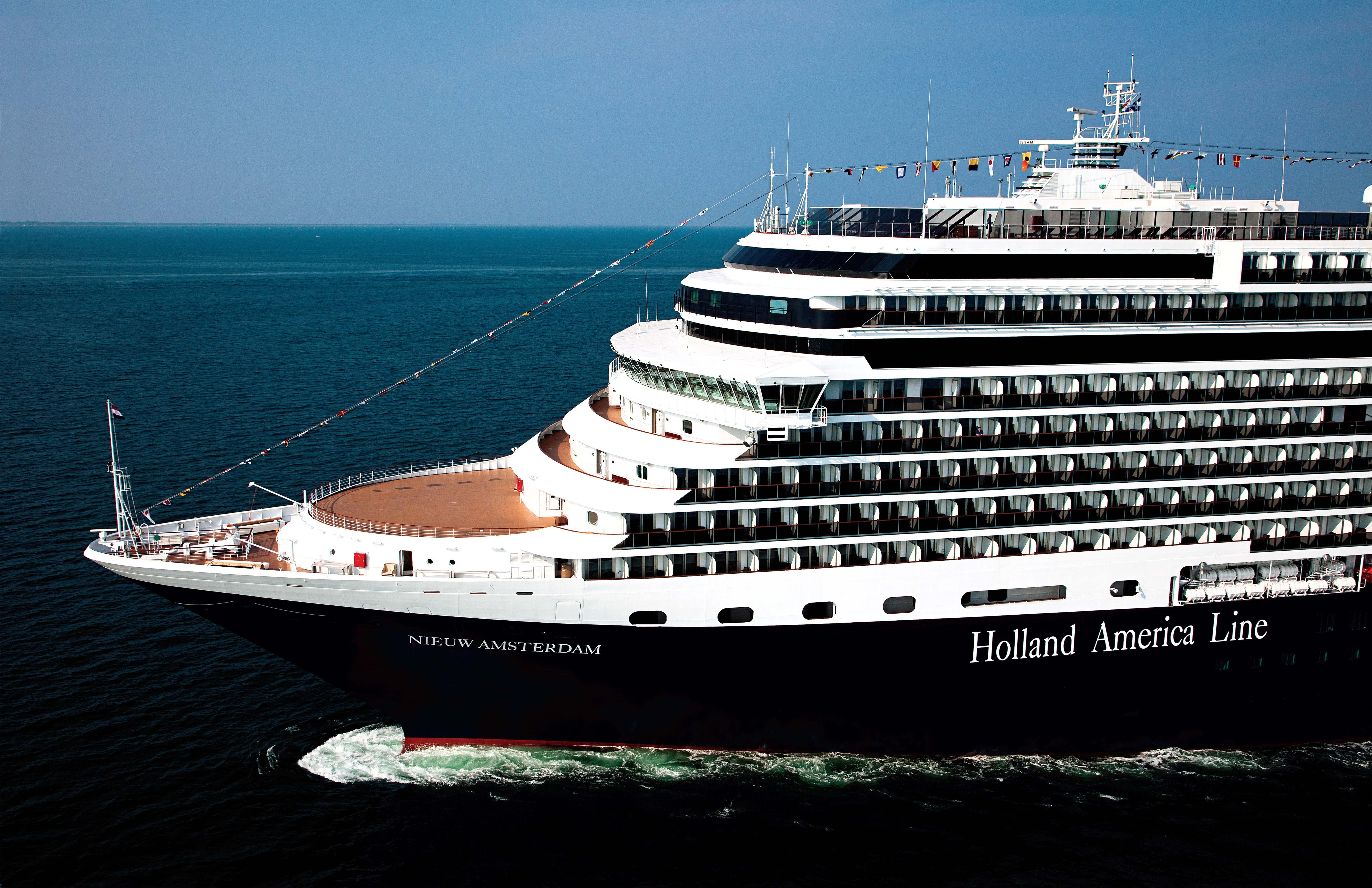 Up Close And Personal Look At Holland America Line - Holland new amsterdam cruise ship