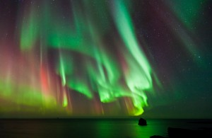 Aurora Borealis dances over the Arctic Ocean When is the best weather in Alaska to take a cruise?