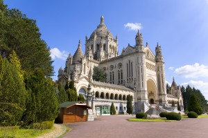 Basilica of Lisieux (Normandy, France)
