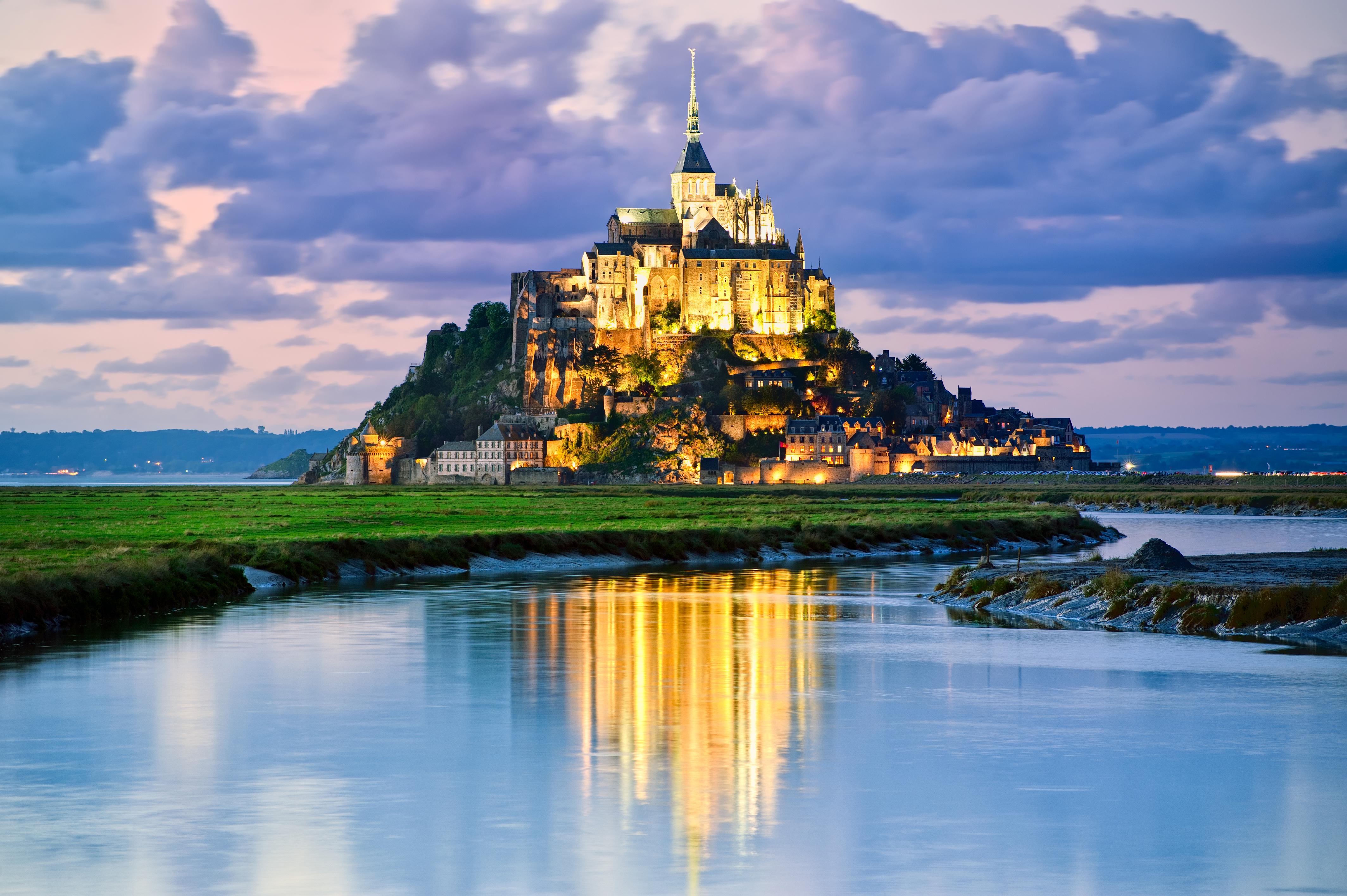 Mont Saint Michele, France 2