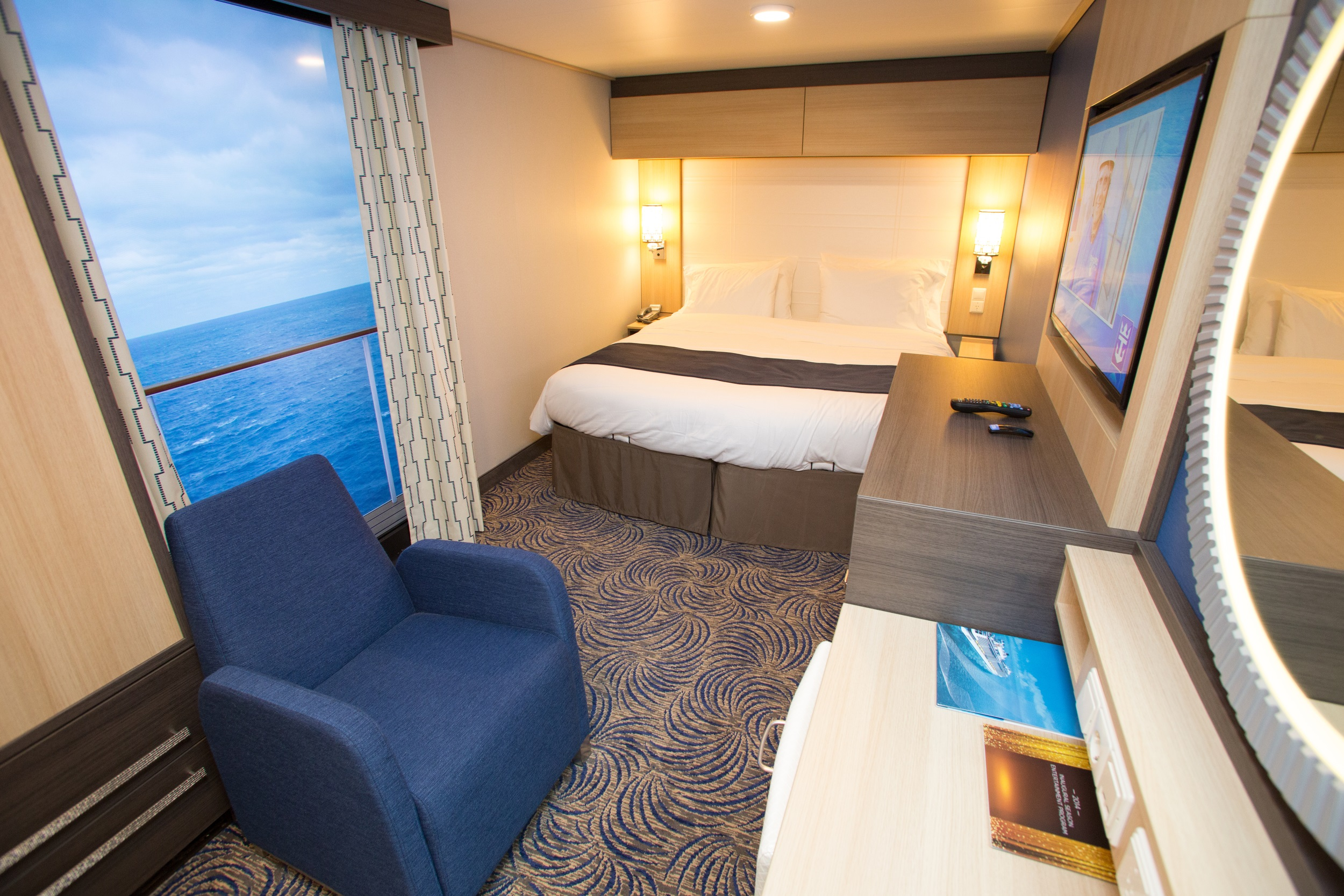 Choosing a cruise ship cabin for Balcony in cruise ship