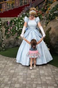 Cinderella and girl