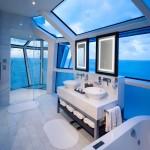 Bathroom Reflection Suite Cat. RF - Room #4101 Deck 14 Forward Portside Celebrity Reflection - Celebrity Cruises
