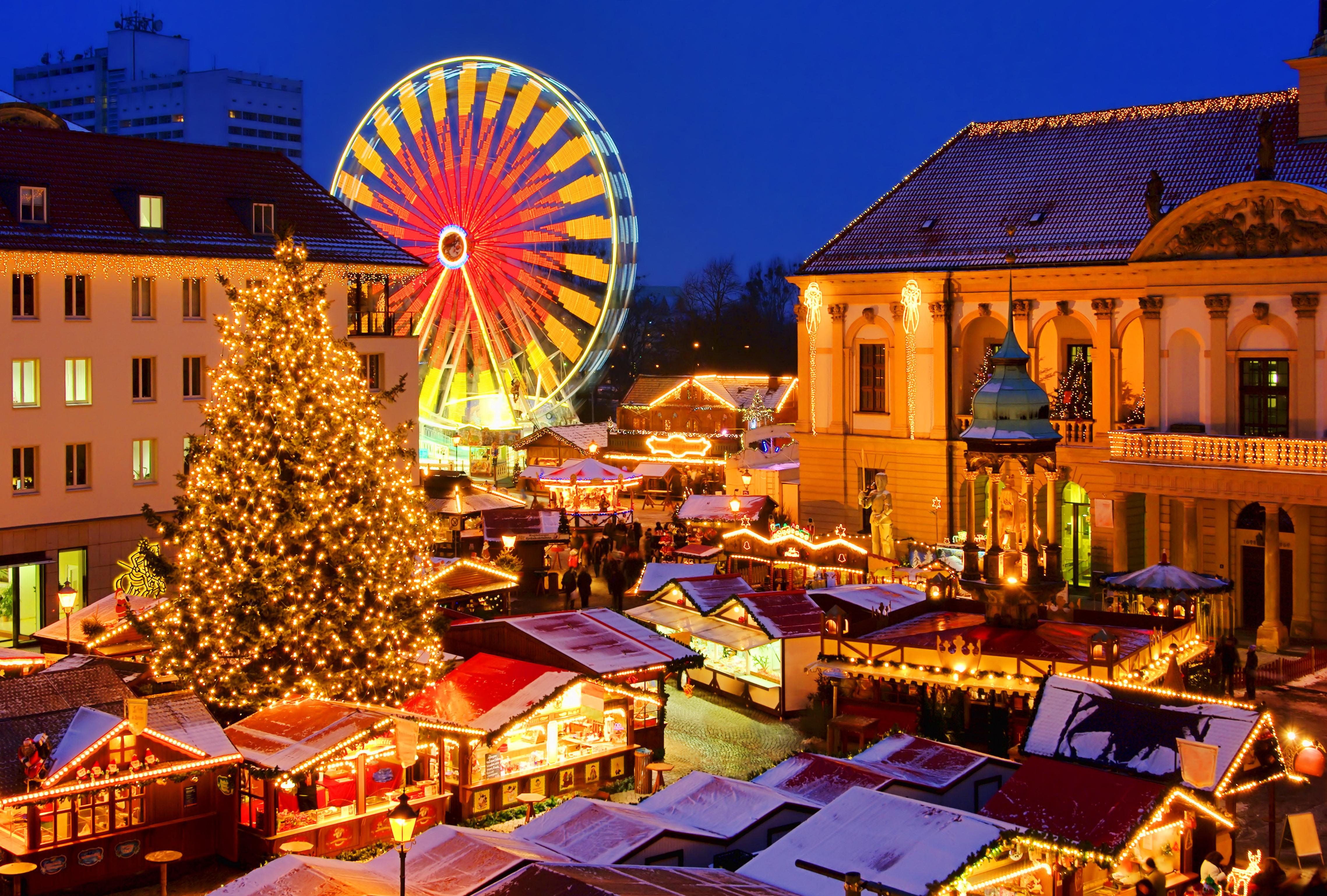 christmas Magdeburg christmas market
