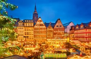 christmas market franfurt germany