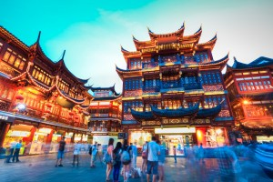 Asia cruise to Shanghai