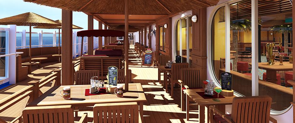 Carnival Horizon Deck  Best Rooms