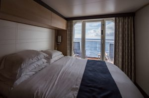 best cruise ship cabin