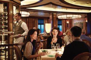 princess cruise dining menu