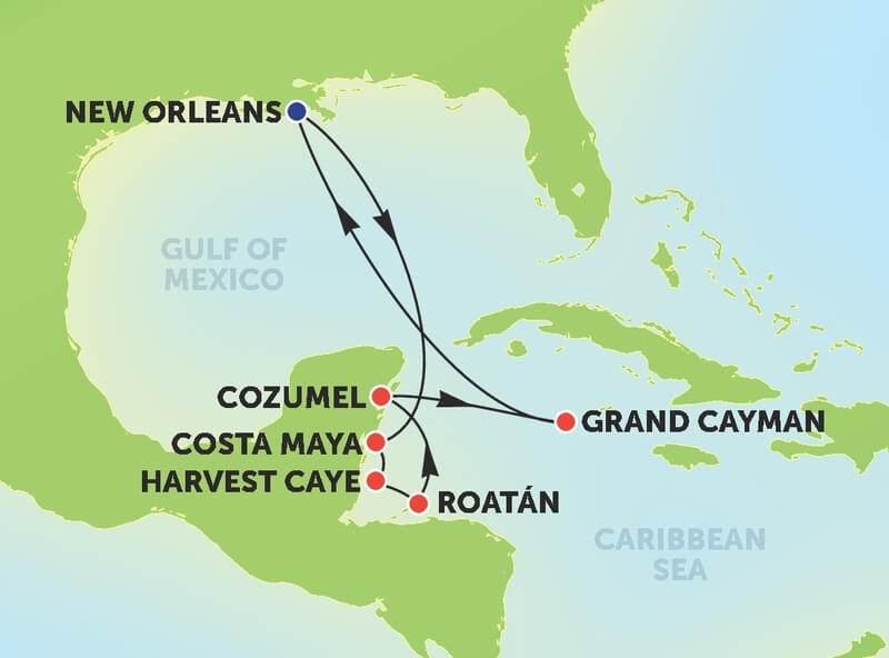 cruises from new orleans 2018 cruiseexperts com blog rh cruiseexperts com cruise out of new orleans october 2018 cruise out of new orleans october 2018