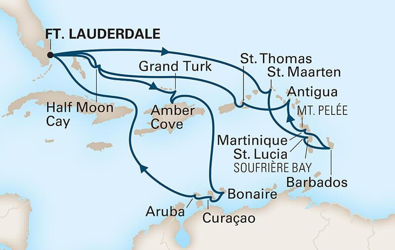 best caribbean cruise lines