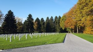 european river cruise reviews - luxembourg american cemetary