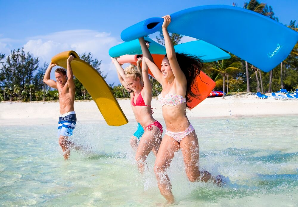 have the perfect day at royal caribbean s new coco cay water park