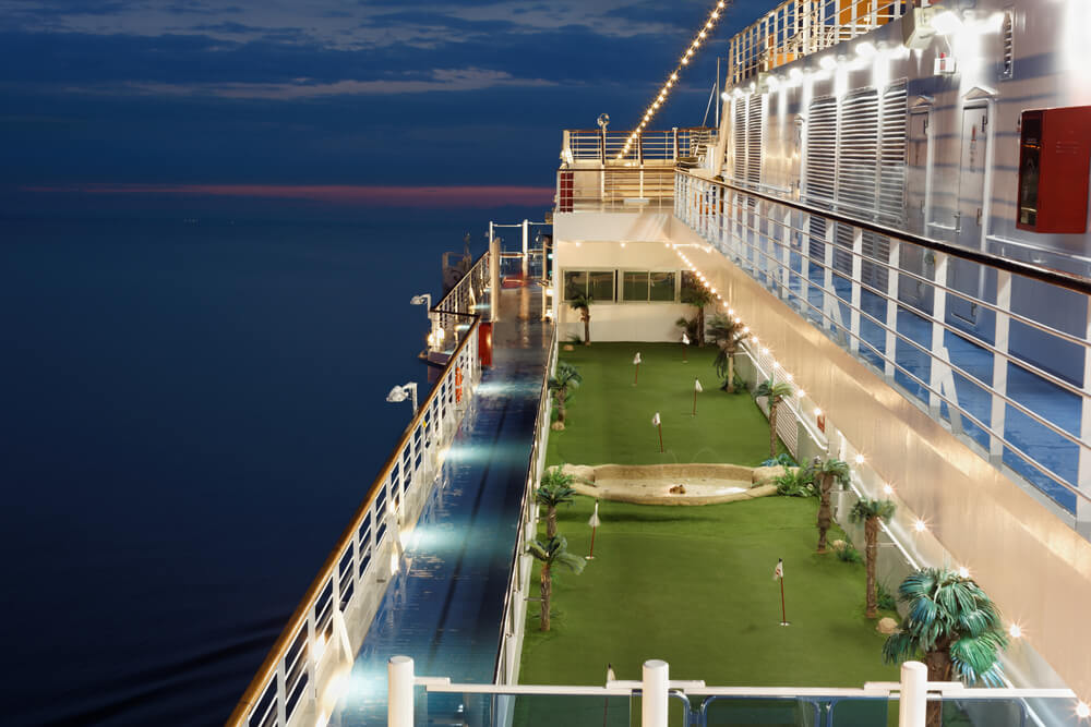 cruises with golf packages