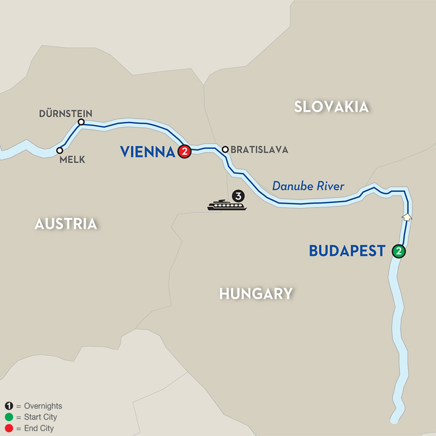 8 Day Avalon River Cruise From Budapest To Vienna 2018 Cruiseexperts Com