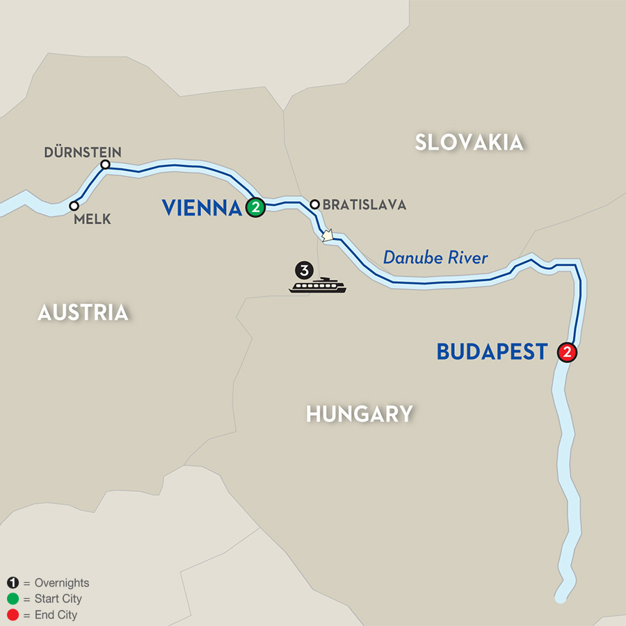 avalon-river-cruise-vienna-to-budapest-map