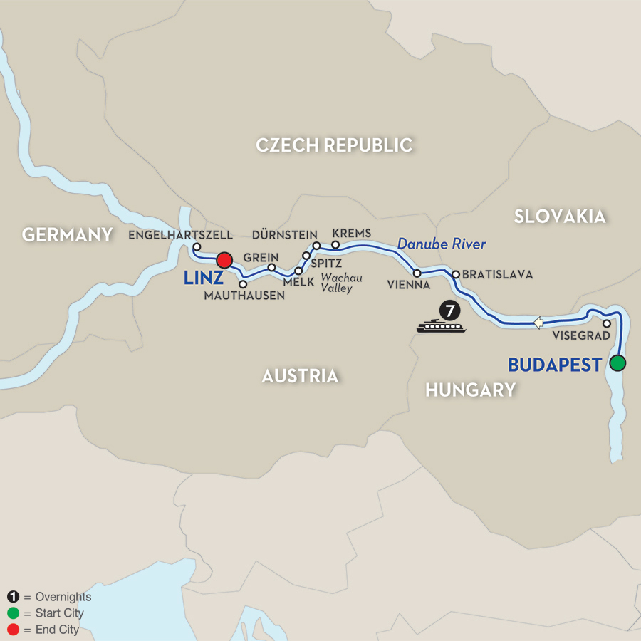 8 Day Avalon River Cruise From Budapest To Linz 2018