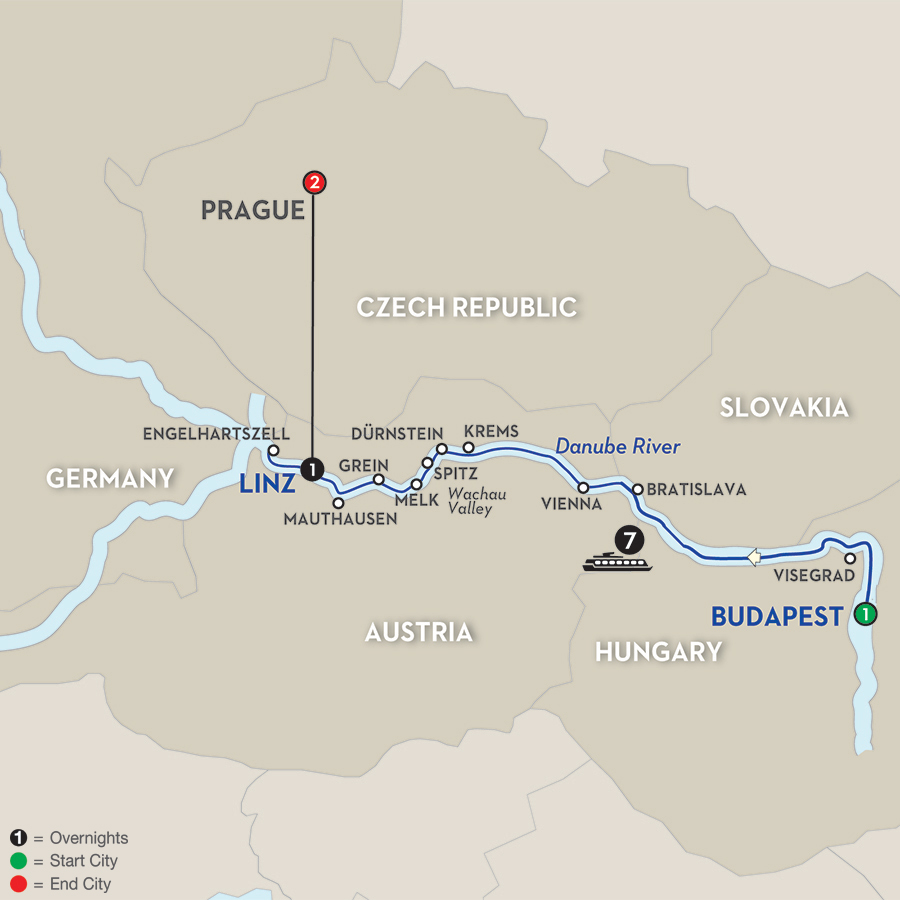12 Day Avalon River Cruise From Budapest To Prague  2017  CruiseExpertscom