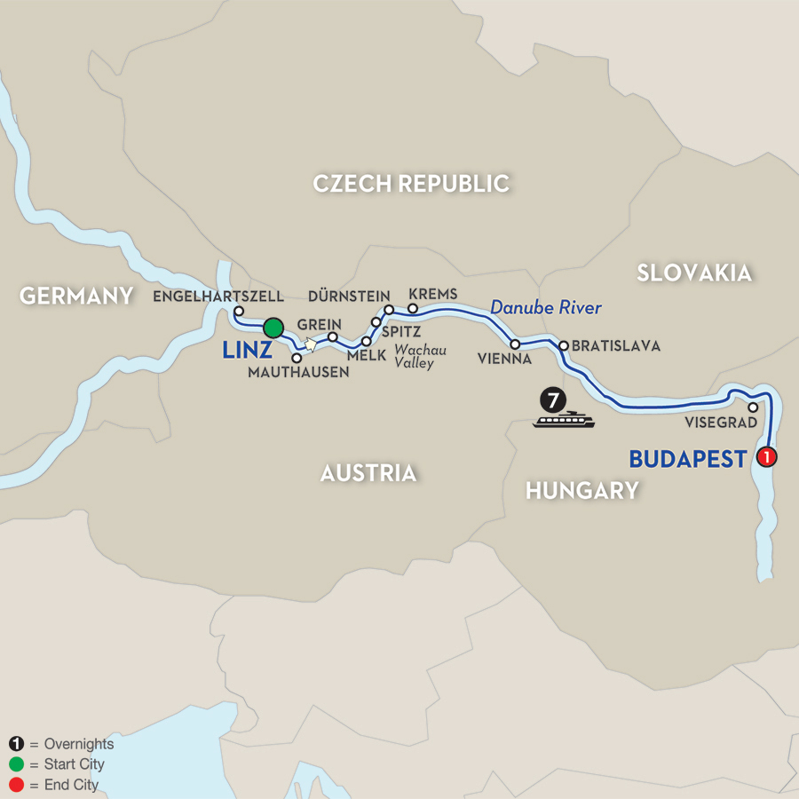 avalon-river-cruise-linz-to-budapest-map