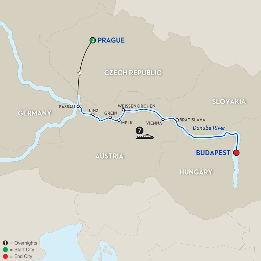 10 Day Avalon River Cruise From Prague To Budapest 2017  CruiseExpertscom
