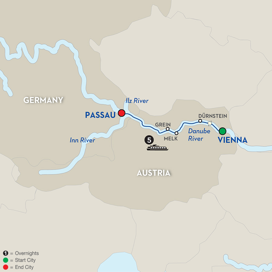 6 Day Avalon River Cruise from Vienna to Passau 2017