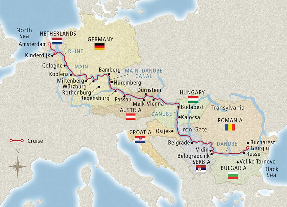 viking-river-cruise-bucharest-to-amsterdam-map-712