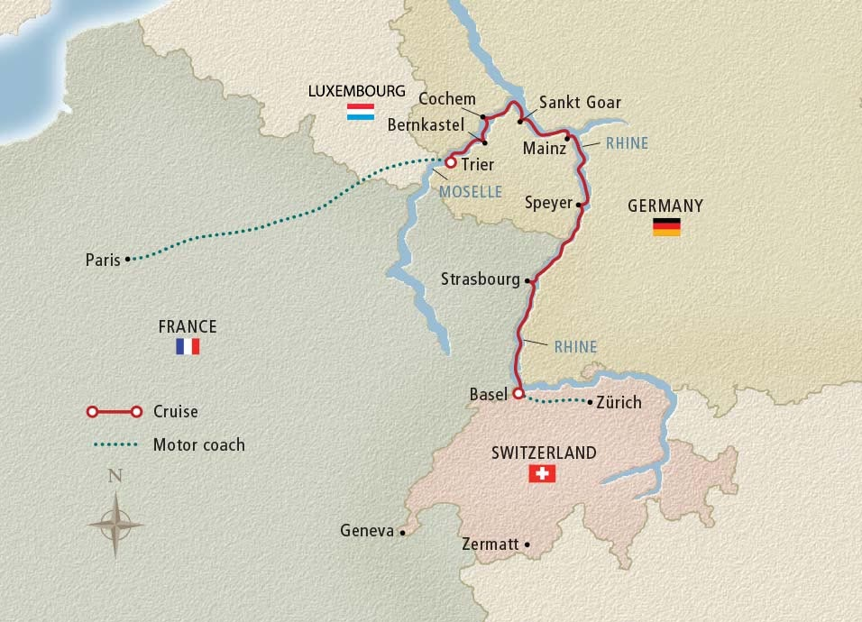 12 Day Viking River Cruise From Z 252 Rich To Paris 2018